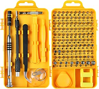 PC Repair Screwdriver Set, Apsung 110 in 1 Professional Precision Screwdriver set, Multi-function Magnetic Repair Computer Tool Kit Compatible with iPhone/Ipad/Android/Laptop/PC etc Brand Apsung