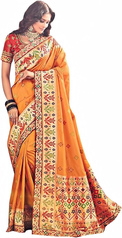 Bridal Silk Saree Sari New Launch Collection Blouse Wedding Party Wear Ceremony Women Muslim