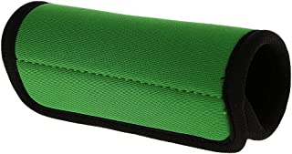 Perfk Travel Luggage Suitcase Handle Cover Comfort Wraps Identifier Tags-Green