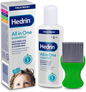 Hedrin All In One Shampoo, 100 ml
