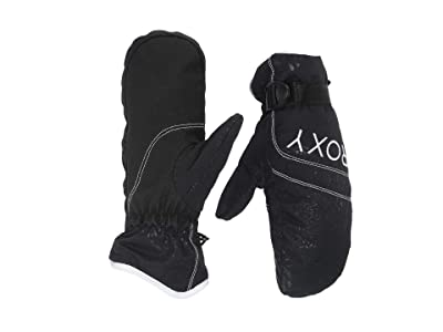 Roxy Roxy Jetty Solid Snow Mitt (True Black) Ski Gloves