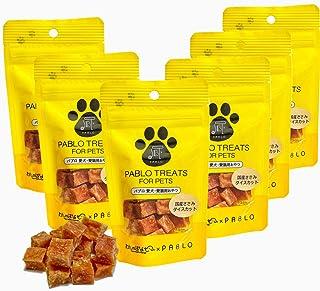 PABLO パブロ 国産 ささみ ダイスカット 無添加 犬用 おやつ セット (30g×6袋)