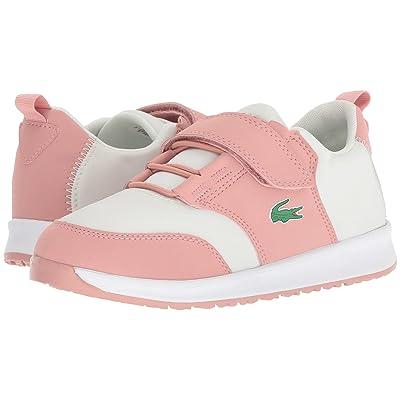 Lacoste Kids L.Ight 318 (Little Kid) (Pink/Off-White) Kid