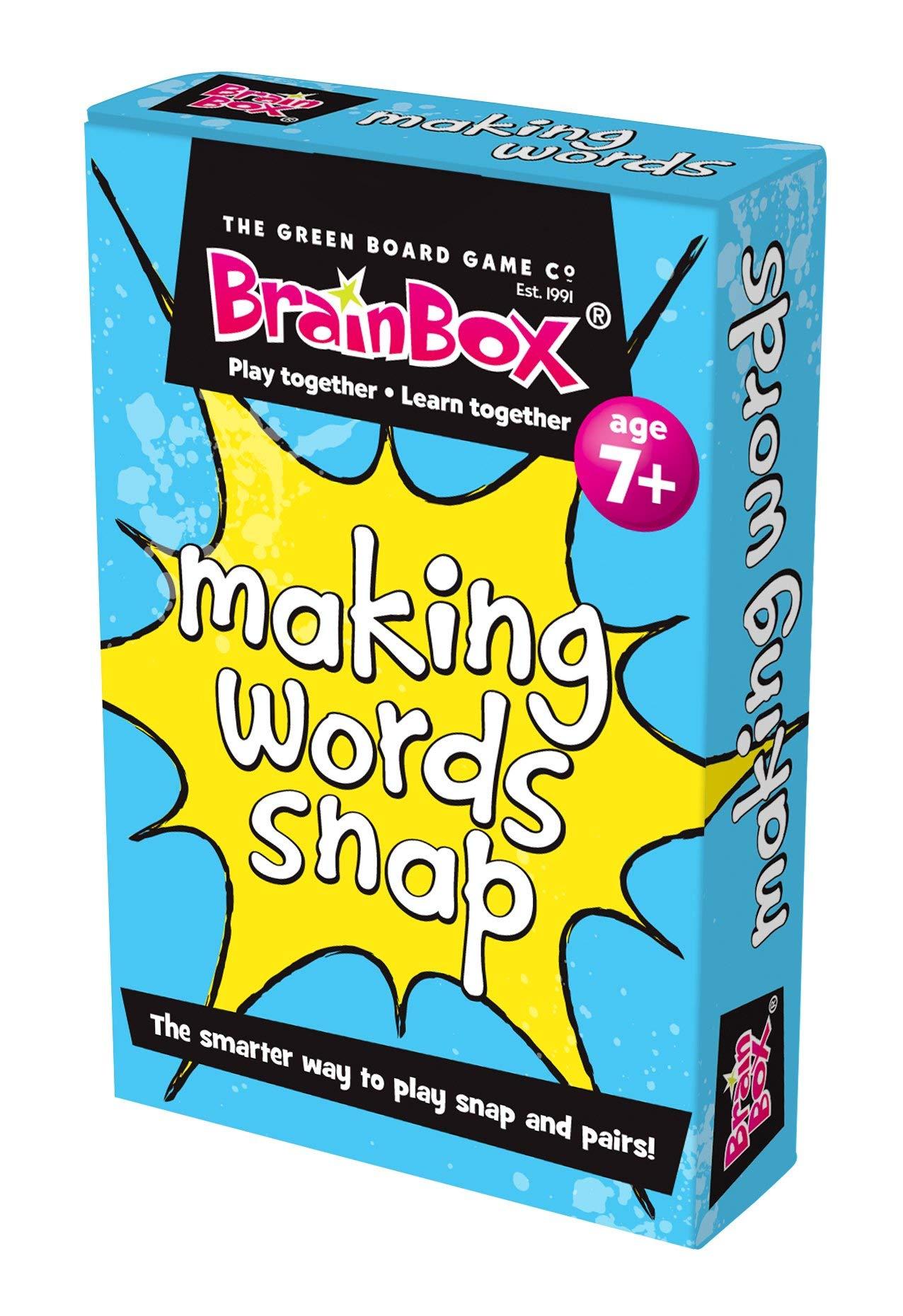 Green Board Games Making Words Snap - Juego para Aprender a Leer y Escribir (en inglés): Amazon.es: Juguetes y juegos