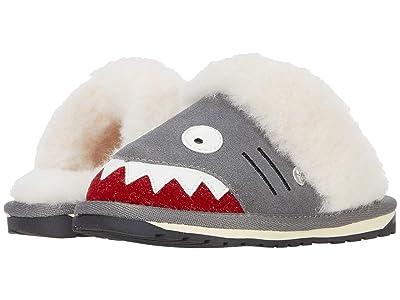EMU Australia Kids Shark Slipper (Toddler/Little Kid/Big Kid) (Putty) Kid