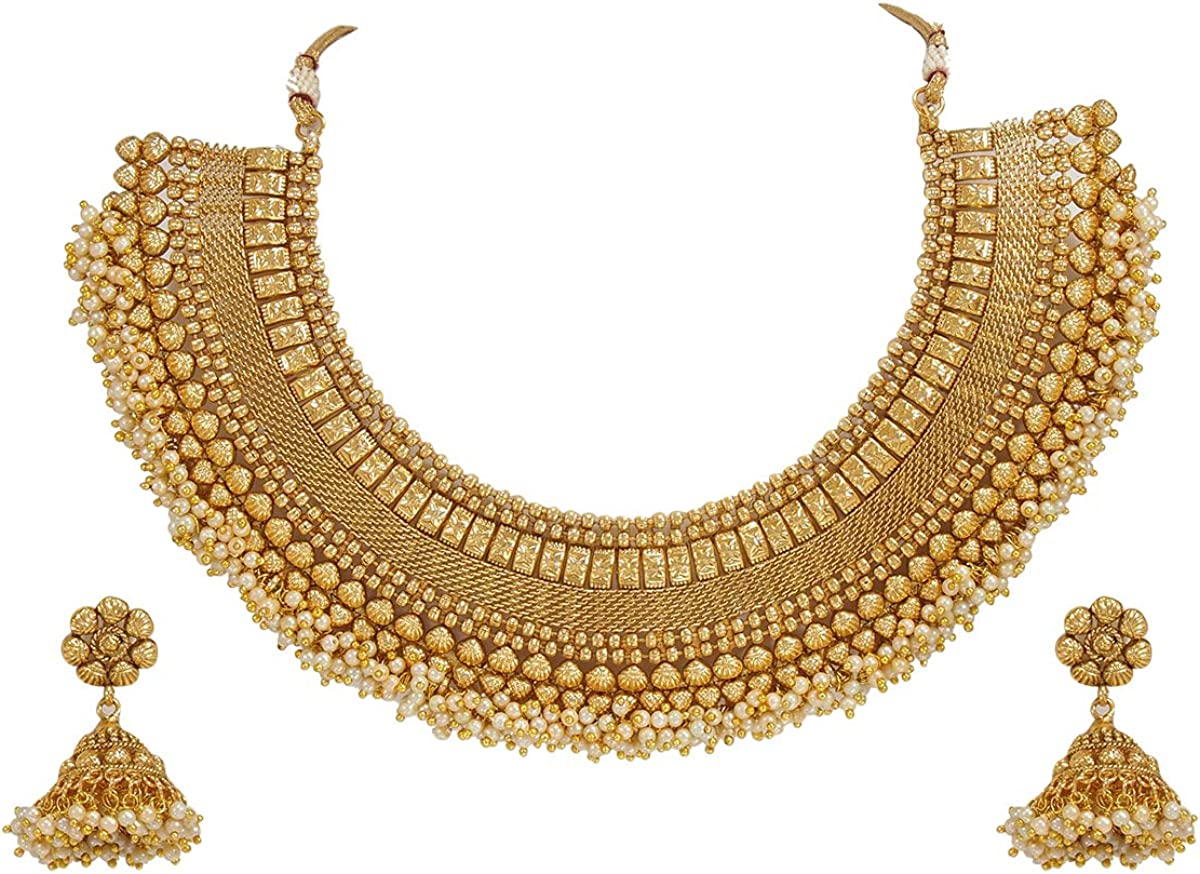 CROWN JEWEL service New Indian Ethnic Jewe Fashion Gold Bollywood Elegant Plated