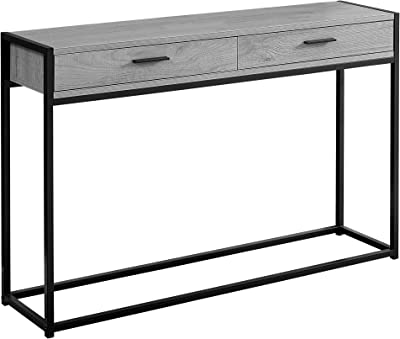 Monarch Specialties I Accent, Console Table, GREY