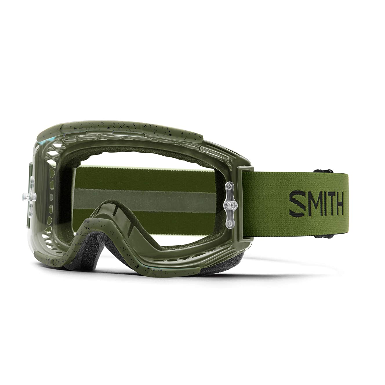 Smith Optics Squad Adult MTB Off-Road Cycling Goggles - Moss/Clear AFC/One Size
