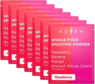 KOYAH - 110 Calorie Organic Plant-based Meal Replacement Powders: Fruits, Ancient Whole