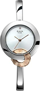 Titan Analog Rose Gold Dial Women's Watch-95051KM02 / 95051KM02