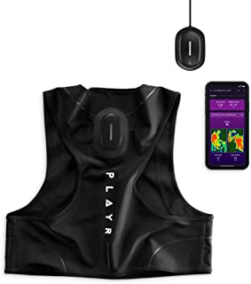 C Catapult PLAYR Smart Football Tracker - GPS Vest and App to Track and Improve Your Game - for iPhone and Android