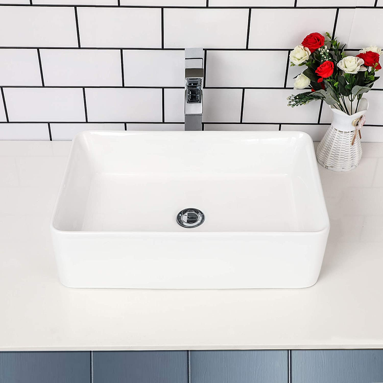 Rectangular Vessel Sink - Kichae 21