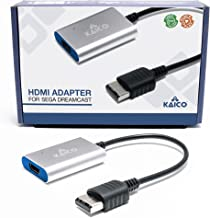 HDMI Adapter Lead for Sega Dreamcast - Simple Plug & Play solution for connecting a Dreamcast to a modern TV by Kaico