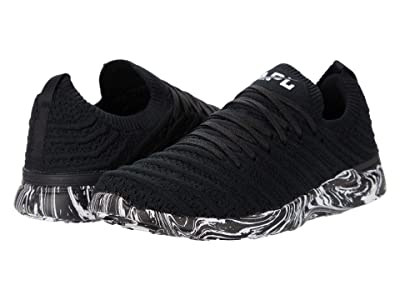 Athletic Propulsion Labs (APL) Techloom Wave (Black/White/Marble) Women