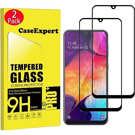 Duret/é 9H vitre de Protection 2 Pi/èces Compatible avec Coques Verre Tremp/é pour Samsung Galaxy A50 Conber Film Protection Ecran pour Samsung Galaxy A50