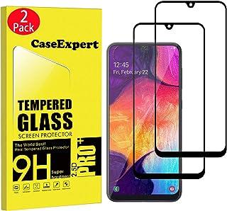 CaseExpert 2-pack – Samsung Galaxy A50 / A50S/A20S/A30S/M30S härdat glas, härdat glas kristallklart skärmskydd skydd och p...