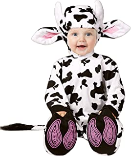 Toddler Baby Infant Dots Cow Halloween Dress Up Costume Outfit