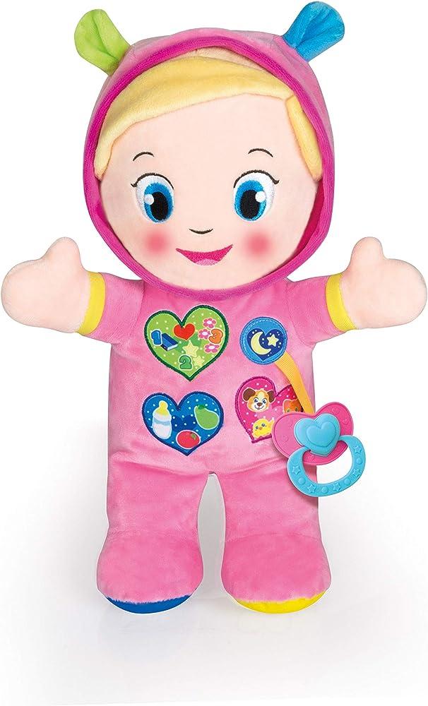 Clementoni- baby alice, la mia prima bambola, 10+ mesi, 17201