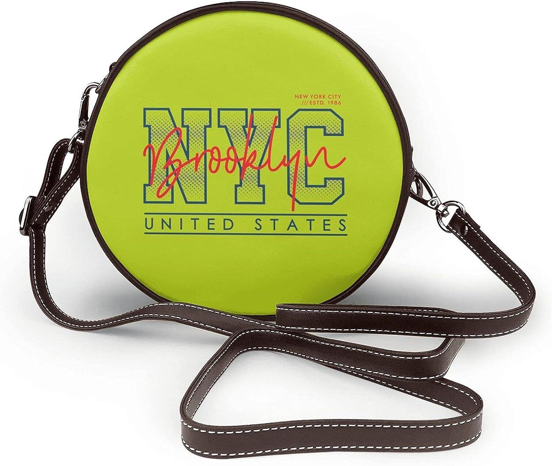 NYC Sales Brooklyn Womens sale Fashion Round Handbag Crossbody Bag Shoulder