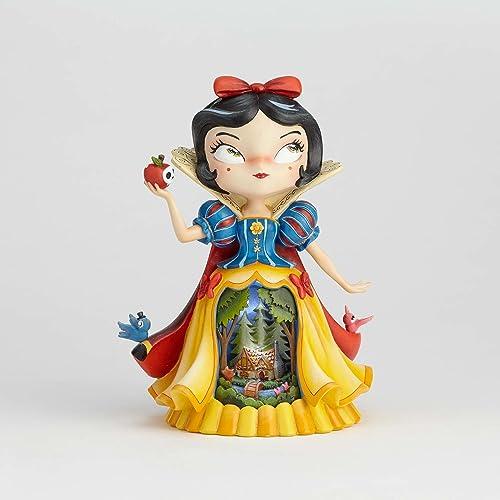Miss Mindy 4058885 Figurine - Blanche Neige, Résine, MultiCouleure, 18 x 14 x 23 cm