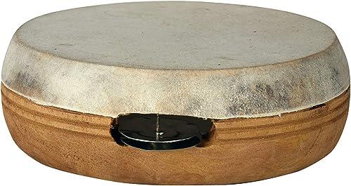 Kannan Musical Instruments 1 Piece Kanjira Brown