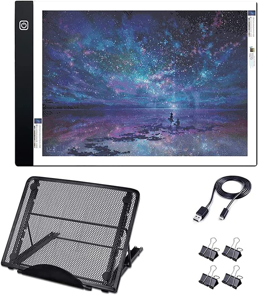 A4 Light Pad Kit with Beauty products Metal Tracing - Stand Box for LED Ranking TOP7