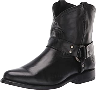 Womens Wyatt Harness Short Western Boots