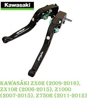 Maneta palanca plegable extensible ajustable de embrague y de freno para KAWASAKI ZX6R (2009-