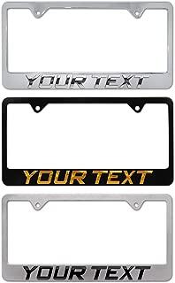 Elektroplate 3D Personalized Metal License Plate Frame - Full Version
