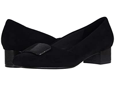 Trotters Delse (Black Micro) Women