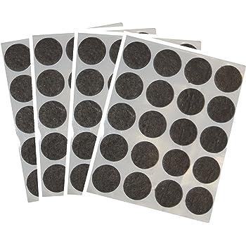 Tesa 578940000001 Rondelle Feutre Anti rayure rond Diam/ètre 26 mm Blanc