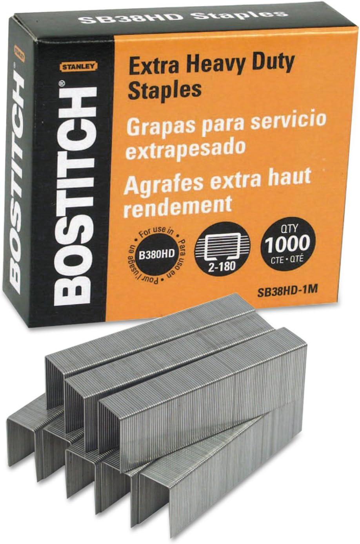 BOSSB38HD1M - Stanley Bostitch for B380HD-Blk Fort Worth Mall Staples Heavy-Duty Brand new