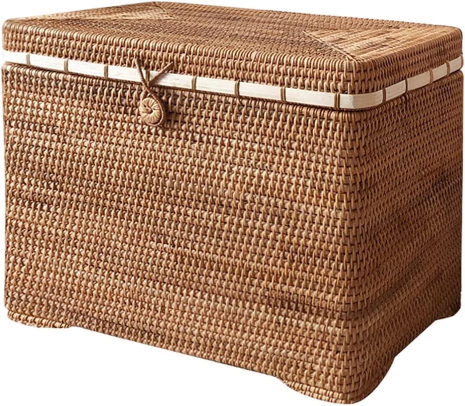 LiPengTaoHome Rattan Overseas parallel import regular item Laundry Hamper To Hand Basket Woven Selling rankings