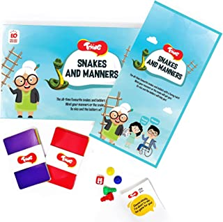Toiing Snakes and Manners | Learn Good Habits and Manners | Snakes and Ladders Game with a Twist | Learning Family Board G...