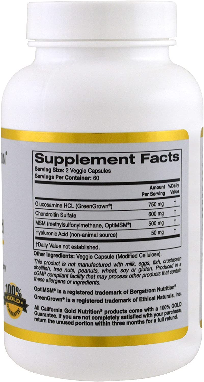 california gold nutrition glucosamine