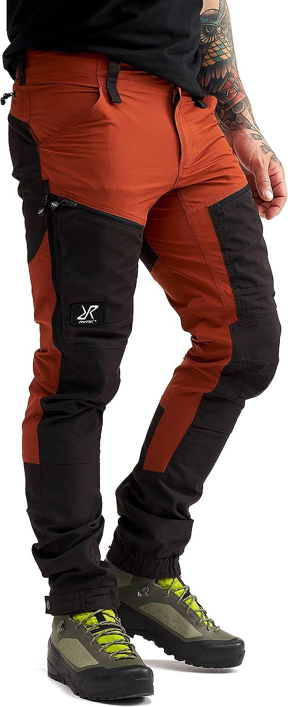 RevolutionRace Pantalones impermeables para hombre [Transpirables y duraderos] para senderismo, trekking, camping, escalada y caza
