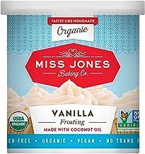 Miss Jones Baking Organic Frosting, Vanilla (Pack of 1)