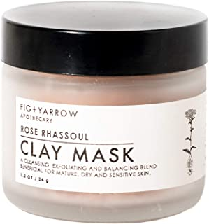 fig and yarrow clay mask
