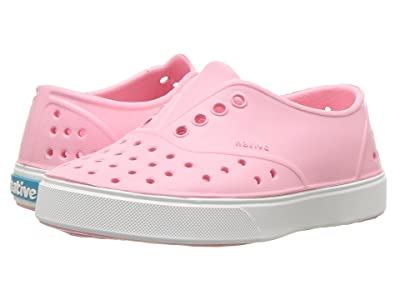Native Kids Shoes Miller (Toddler/Little Kid) (Princess Pink/Shell White) Girls Shoes