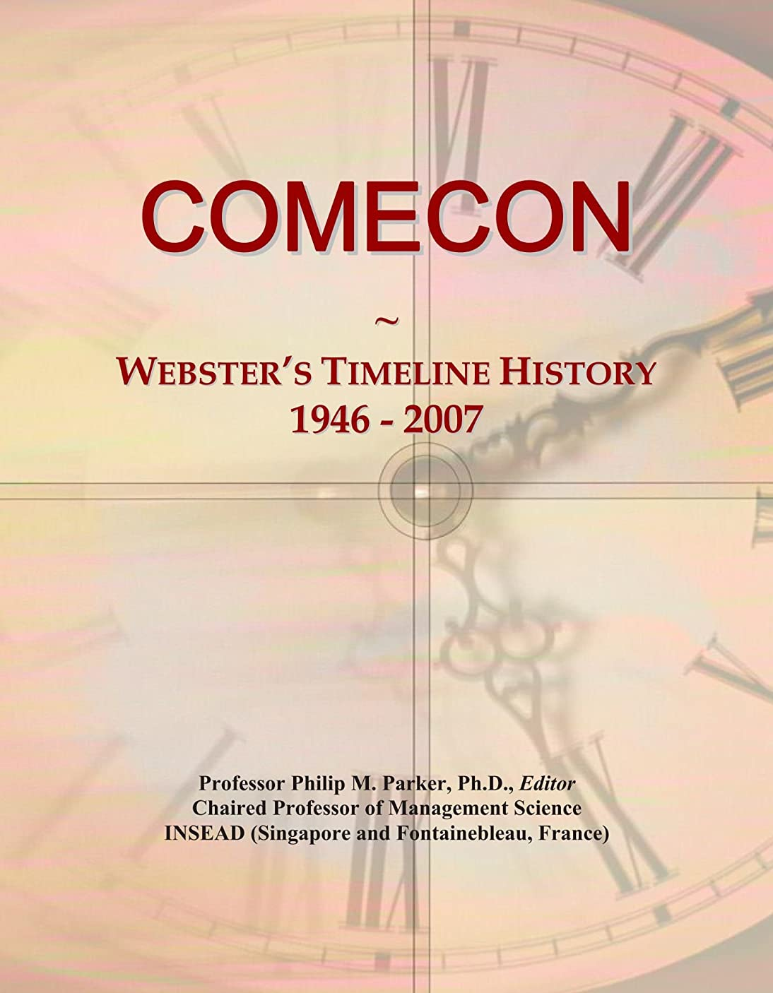 コンドーム暴露繕うCOMECON: Webster's Timeline History, 1946 - 2007