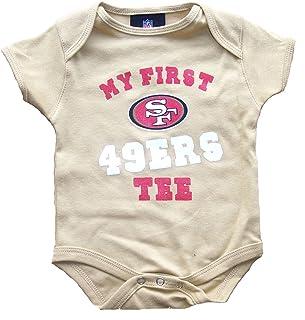 San Francisco 49ers Gold Infant Onesie Size 3 - 6 Months Bodysuit Creeper -  My First 5b16b4f55