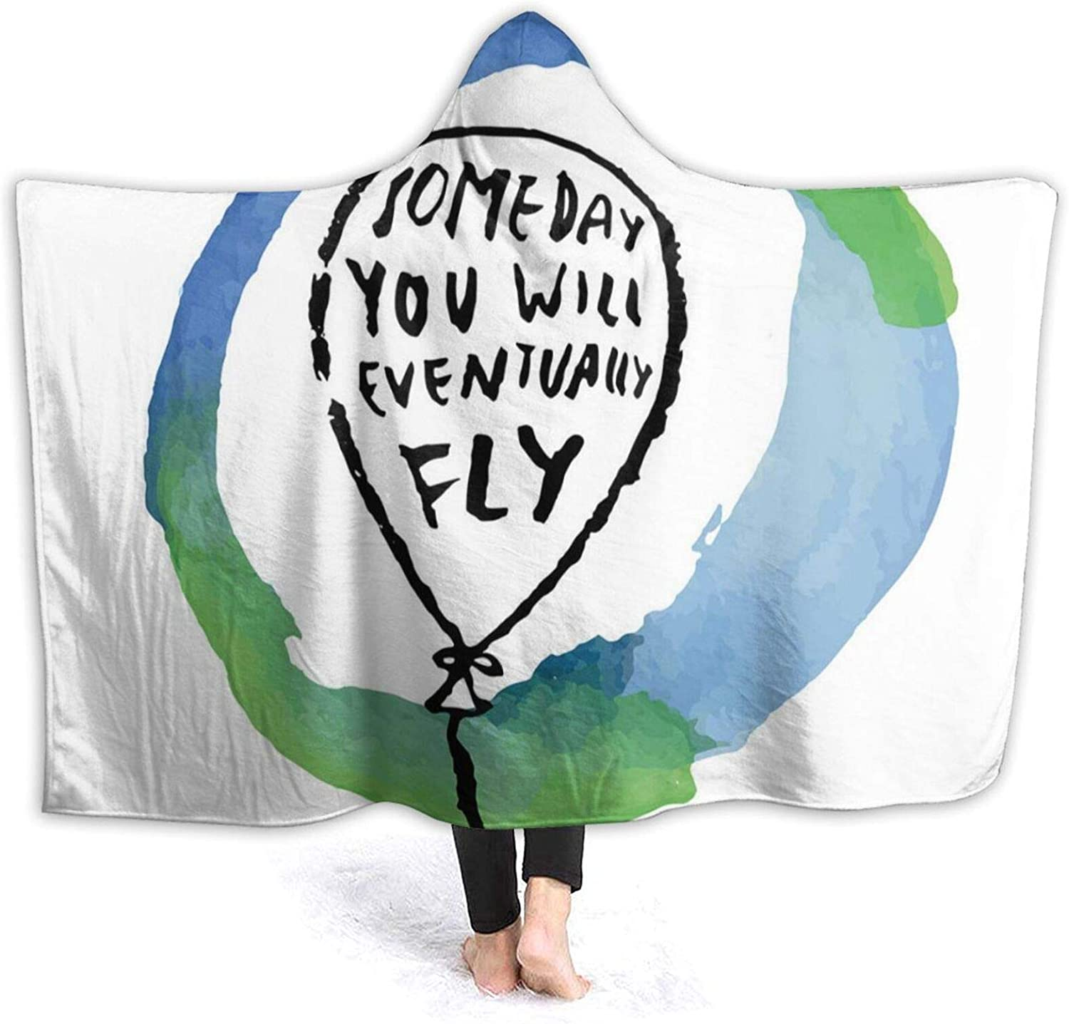 Hooded Blanket Anti-Pilling Flannel You Will Someday Max 61% OFF Indefinitely Eventually
