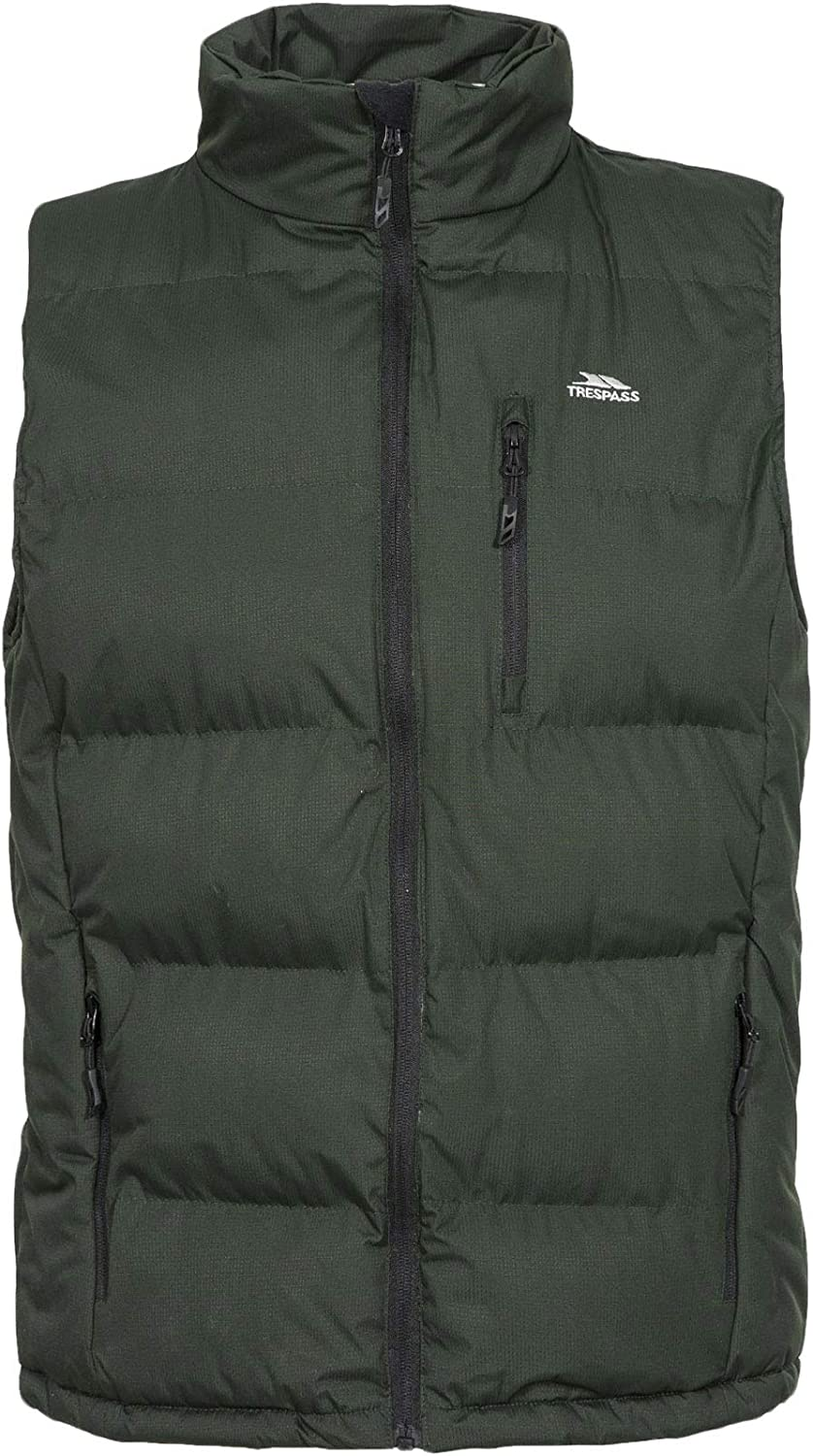 Clasp Mens 新商品 新型 売り込み Padded Gilet OLIVE - XL