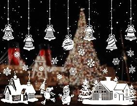 HOWAF Decorazioni per Frigorifero di Natale 2 Fogli Babbo Natale con Pupazzo Adesivi per Frigorifero Magnete per Frigorifero Forniture per Feste Natalizie Invernali per Decorazioni Natalizie