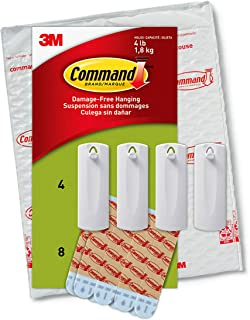 Command Sawtooth Frame Hanger, 4 lb Capacity, Indoor Use, 4-Hangers, Decorate Damage-Free