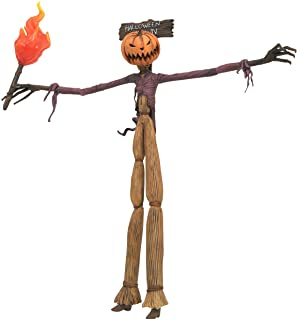 DIAMOND SELECT TOYS The Nightmare Before Christmas Best of Series: Pumpking King Jack Action Figure, Multicolor