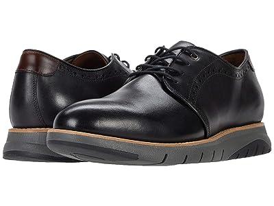 J&M Collection Vaughn Plain Toe (Black) Men