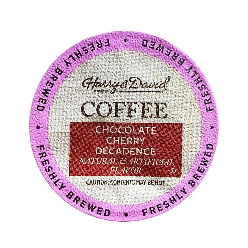 Harry & David Coffee, Chocolate Cherry Decadence, 35 Single Serve Cups