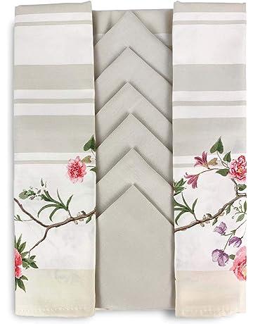 63 centimetri stracci di cotone cialda canovaccio sul canovaccio tavolo a casa grigio chiaro attrezzo di bellezza 4 pc//insieme biancheria da cucina di 42