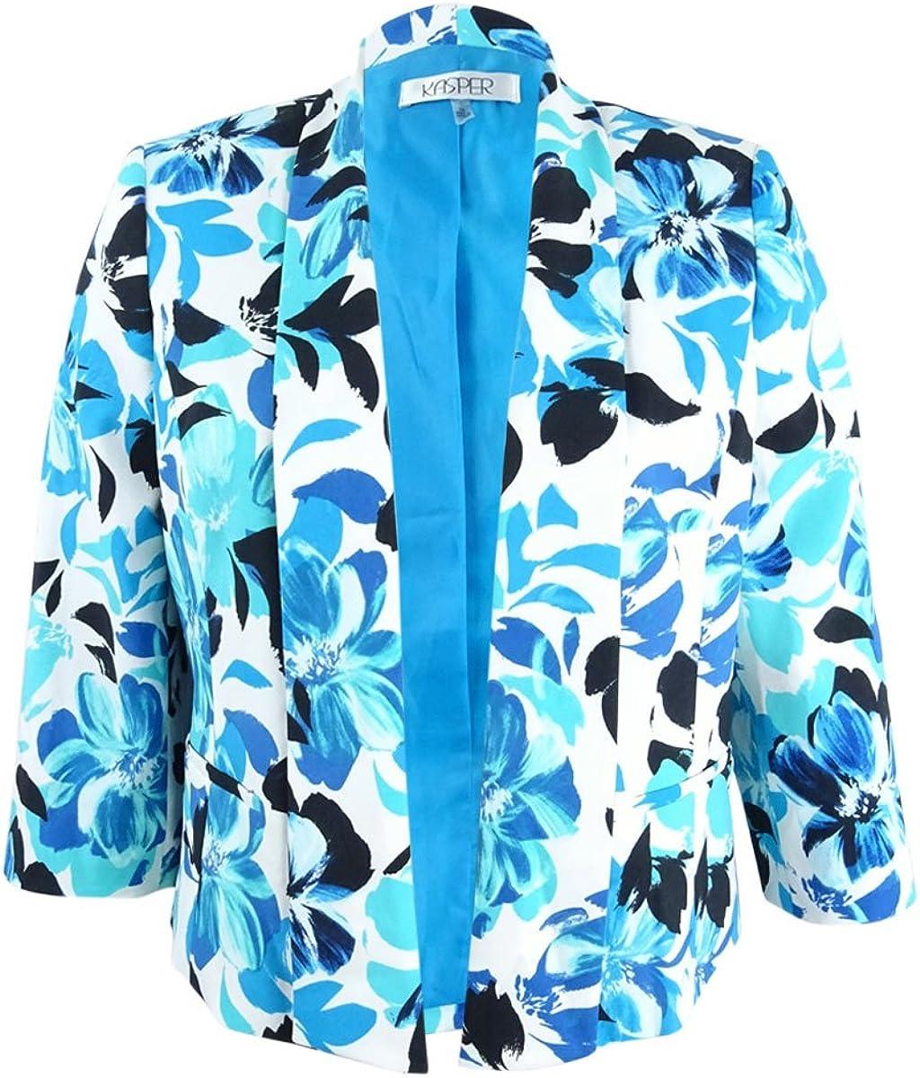 Kasper Women's Floral Kellie El Paso Mall Printed New product Jacket